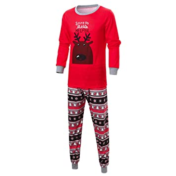 Family Matching Pjs for Christmas High Quality Tracksuit Clothes Kids  Outfits Clothing Apparel Pajamas Sleepwear Set 6decc5325