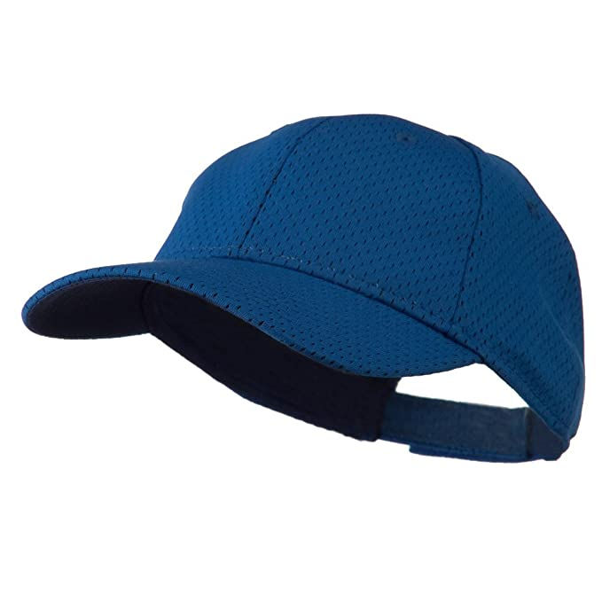 b1a6b2a9713 Amazon.com  Youth Athletic Jersey Mesh Cap - Royal OSFM  Baseball ...