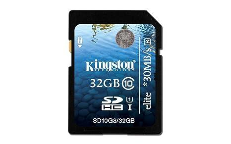 Amazon.com: Kingston SDHC Class 10 Digital tarjeta flash G3 ...