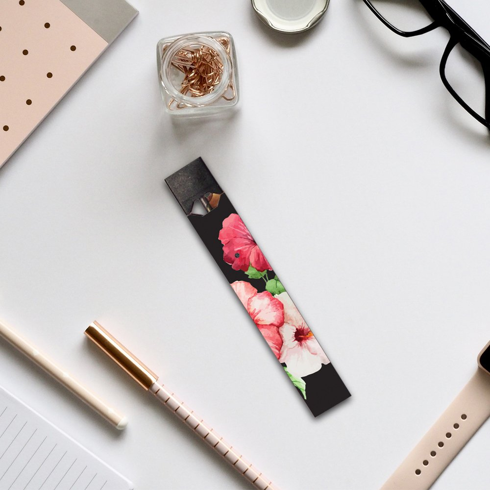 and Unique Vinyl wrap Cover Remove MightySkins 2 Pack of Full Coverage Skins Compatible with Pax Juul and Charger Made in The USA Easy to Apply Purple Flowers Protective Durable