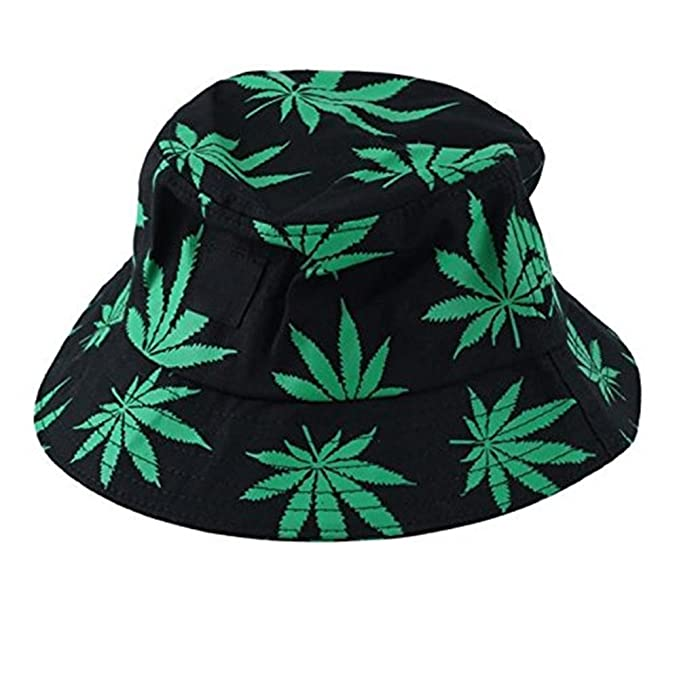 Leisial Men s Maple Leaves Bucket Hats Cotton Hats Unisex Caps  Amazon.co.uk   Clothing 08b83e747997