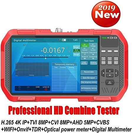 EU plug Tester DT-A86 Network Tester HD TDR Line Breakpoint Test Multimetro Laser Power Meter Tester multifunzione con AC100-240V