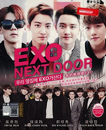 Exo Next Door 3-DVD Set, Korean TV Drama, English Sub: Amazon.fr ...