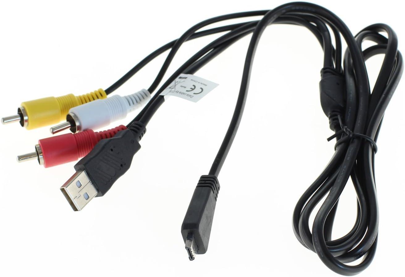 Otb Usb Av Verbindungskabel Für Sony Cyber Shot Kamera