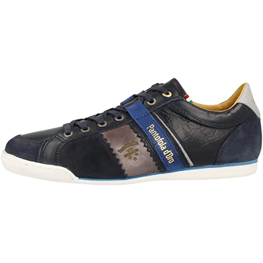 Savio Romagna Low Modern Low-Cut Sneaker Dress Blue Blau Men