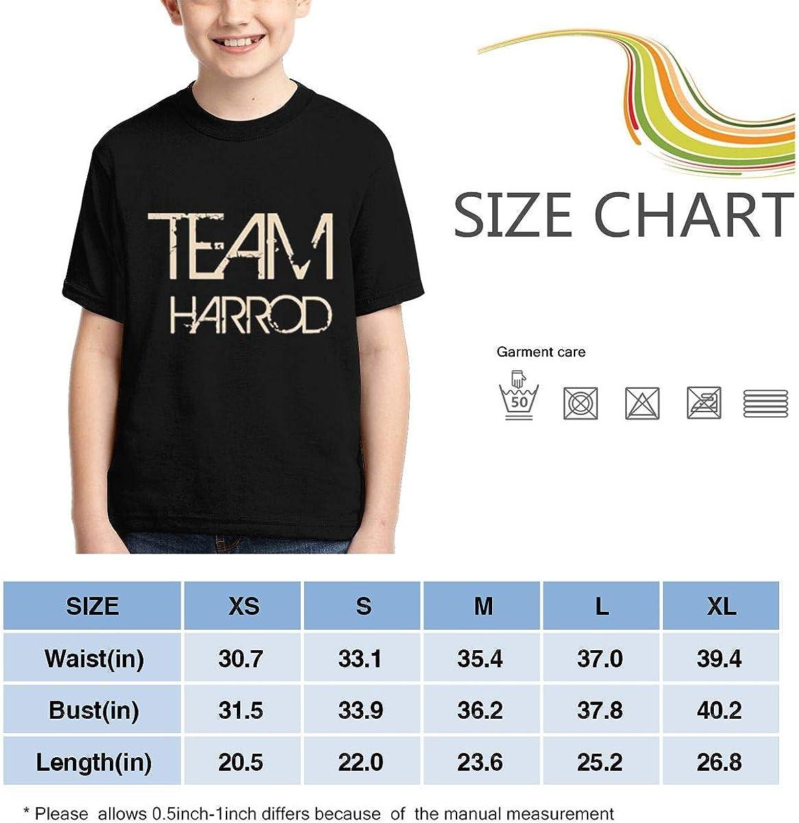 Hxuedan Boys,Girls,Youth Team Sports Last First Name Harrod Tee