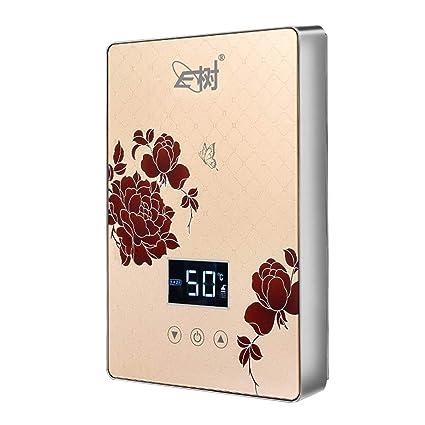 Calentador de Agua instantáneo sin Tanque 6000W 220V Calentador de Agua eléctrico instantáneo Herramientas de calefacción