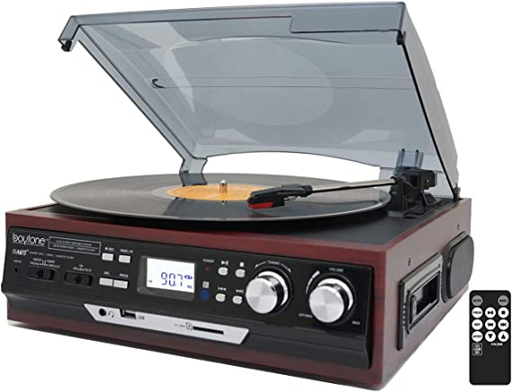 Boytone BT-17DJM-C 3-Speed Stereo Turntable