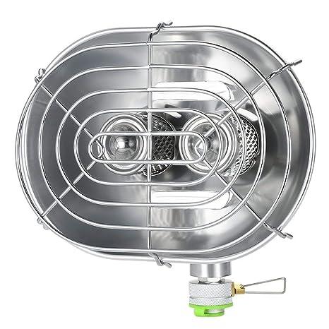 BRS Calentador de Invierno Infrarrojo para Exteriores Calentador de Estufa al Aire Libre para Acampar Senderismo