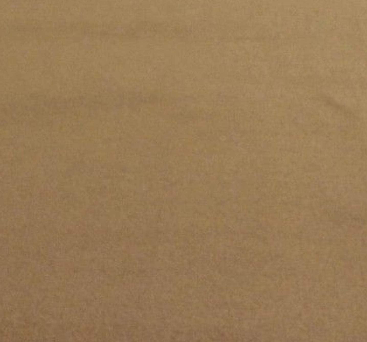5 Yards Top Quality Medium Prairie Tan Unbacked Automotive Carpet Flexible 18 OZ 80 Wide #CFAS