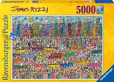 James Rizzi City 5000 Piece Puzzle from Ravensburger