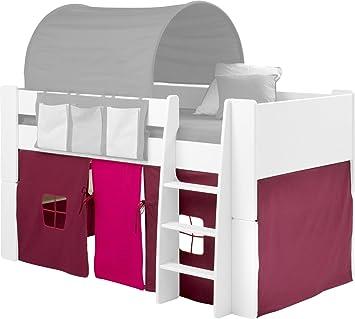 Steens For Kids Vorhangset Fur Kinderbett Hochbett 5 Tlg 176 X 75