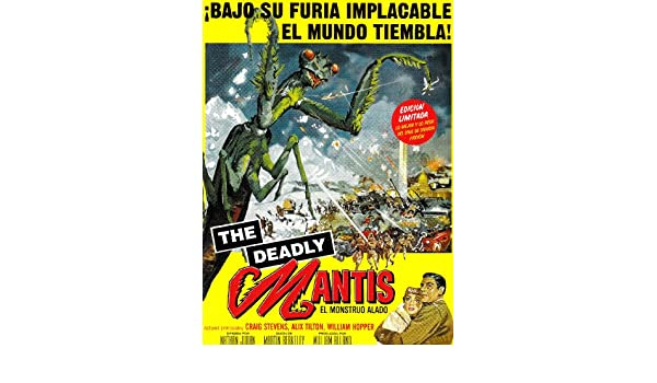 The Deadly Mantis [Francia] [DVD]: Amazon.es: Nathan Juran ...