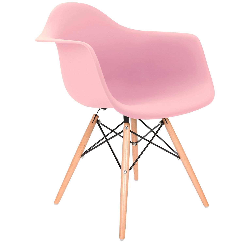Chaise Privée Stuhl DAW – – – Rosa, Natur c1a0bf