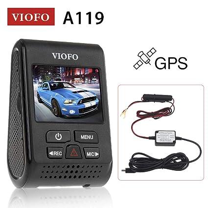 "Viofo A119S 2.0/"" LCD Capacitor Novatek 96660 HD 1080p Video GPS Car Dash Camera"