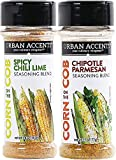 chili lime seasoning - Urban Accents Corn on the Cob Vegetable Seasoning, Chile Lime and Chipotle Parmesan (2-pack)
