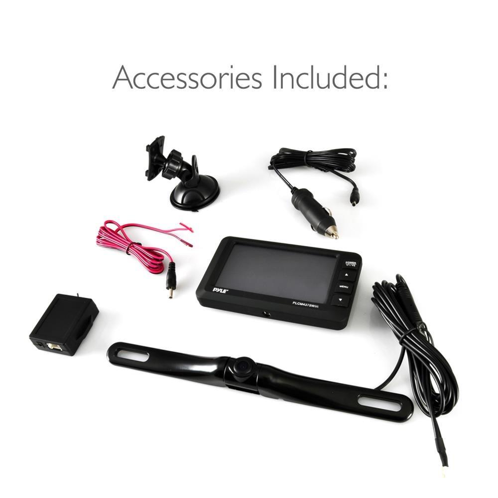 Amazon.com: Pyle Upgraded Wireless Backup Camera and Monitor Kit ...