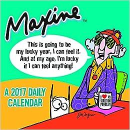 2017 Maxine by Hallmark Daily Desktop Calendar: Hallmark ...