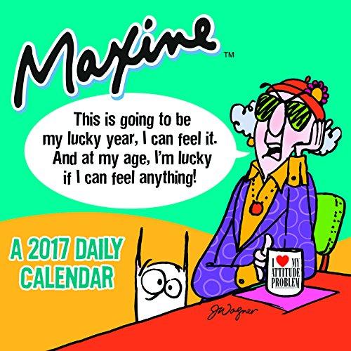 2017 Maxine by Hallmark Daily Desktop Calendar Hallmark