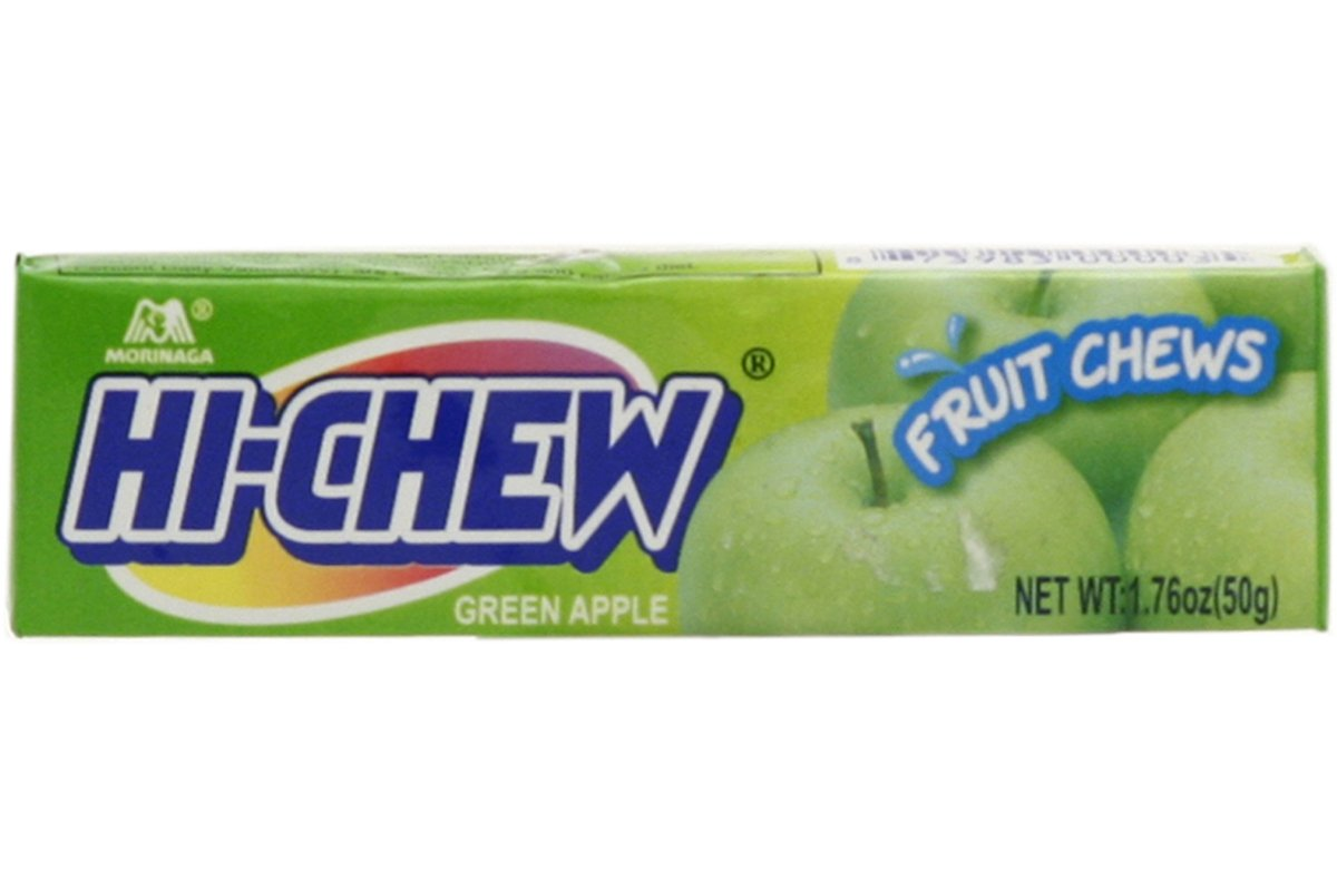 Hi-chew (Green Apple Flavor) - 1.76oz (Pack of 6)