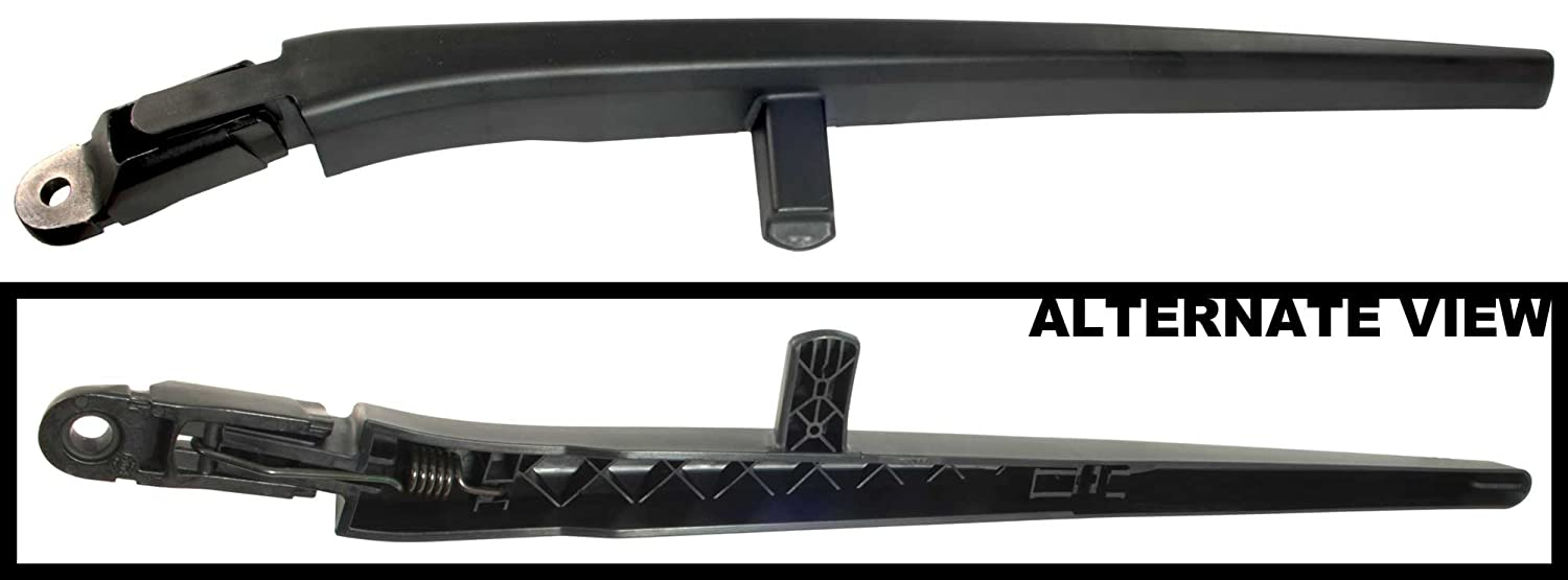 Replaces Mopar 68034341AD, 68034341AC, 68034341AB, 68034341AE, 68034341AF, 68034341AG APDTY 112665 Wiper Arm Blade Holder For Rear Glass Fits 2008-2012 Jeep Liberty