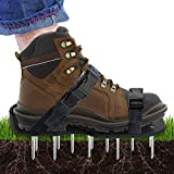 Kyпить Lawn Aerator Shoes, Scuddles Heavy Duty Aerating Spiked Lawn Sandals With Adjustable straps - Sturdy Universal Size - Perfect Fit , Men Women NO ASSEMBLY NEEDED Use straight out of box на Amazon.com