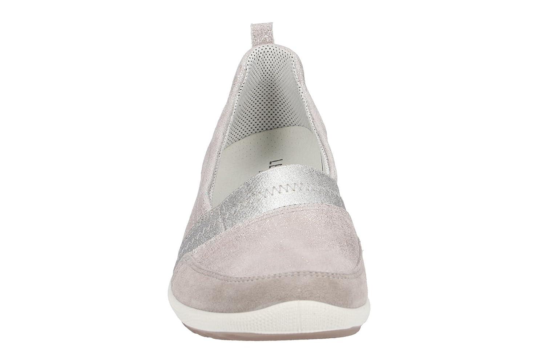 Legero Damenschuhe - Bequeme 00874 Slipper - Halbschuhe Salina - 00874 Bequeme Grau 3fccbb