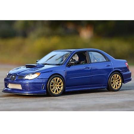MUYB Car Model Die Casting Car 1:24 Subaru Impreza Impreza ...