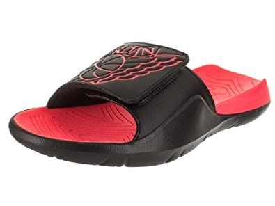 7570fae5e057 Image Unavailable. Image not available for. Color  Jordan AA2517-023  Men s  Black Infrared Jordan Hydro 7 Retro Premium Slides (