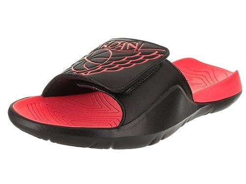 online store a3cd8 11485 Jordan Nike Men s Hydro 7 Black Infrared 23 Infrared 23 Sandal 11 Men US   Amazon.co.uk  Shoes   Bags
