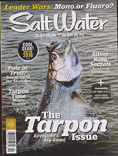 Salt Water Sportsman Magazine April 2018