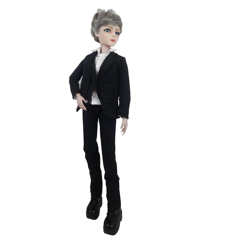 Gambler Boy Men 1/3 SD BJD Doll 60cm 24'' jointed dolls Toy Figure + Accessory