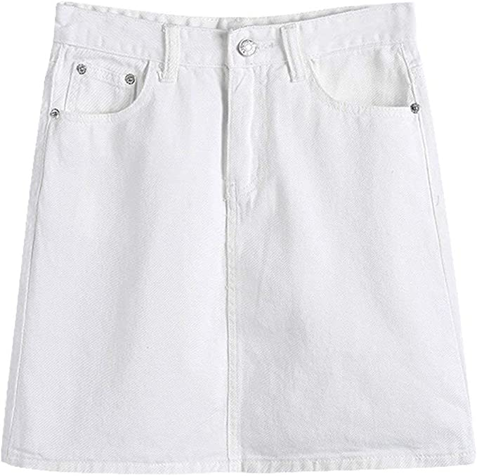 Jean Short Mini Jeans Damas para Faldas Falda Mujeres Color Ropa ...