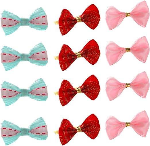 Toyvian 50 Piezas Colores Surtidos Corbata de Lazo Corbatas ...