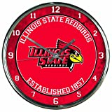 WinCraft NCAA Illinois State Redbirds Chrome Clock