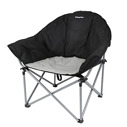 KingC& Sofa Chair Oversized Padded Reclining Folding Heavy Duty Deluxe Portable Stable for C&ing Hiking  sc 1 st  Amazon.com & Amazon.com : KingCamp Sofa Chair Oversized Padded Reclining Folding ...