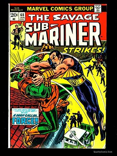 Sub-Mariner #68 NM+ 9.6