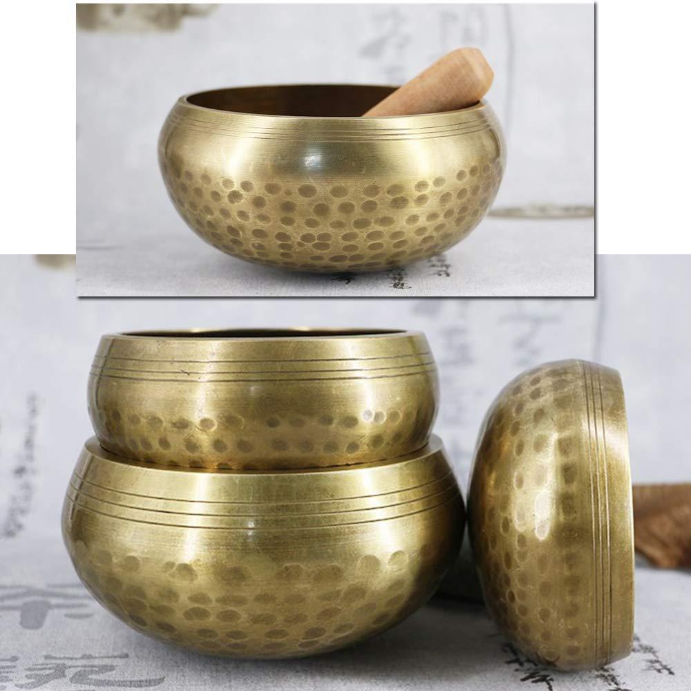 Bol Bouddhiste rituel en cuivre ASHATA 3.2 Pouces avec Bol deau Bol Bouddhiste rituel Bol en cuivre Pur pour Temple Bouddhiste