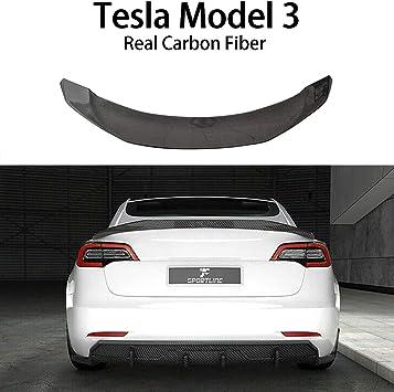 Fits Tesla Model 3 2018 2019 2020 ACS M3 Spoiler 51-4-001 GBA ACS Composite Tesla Model 3 Spoiler Rear Trunk Lid Wing in Gloss Black
