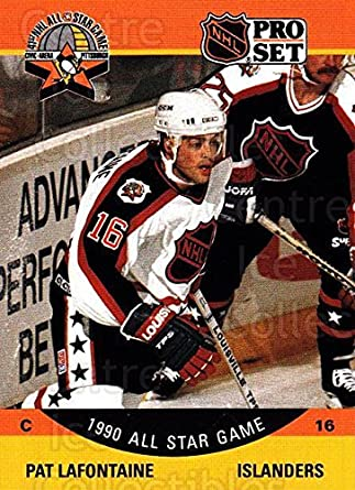d3931787e Amazon.com  (CI) Pat LaFontaine Hockey Card 1990-91 Pro Set (base ...