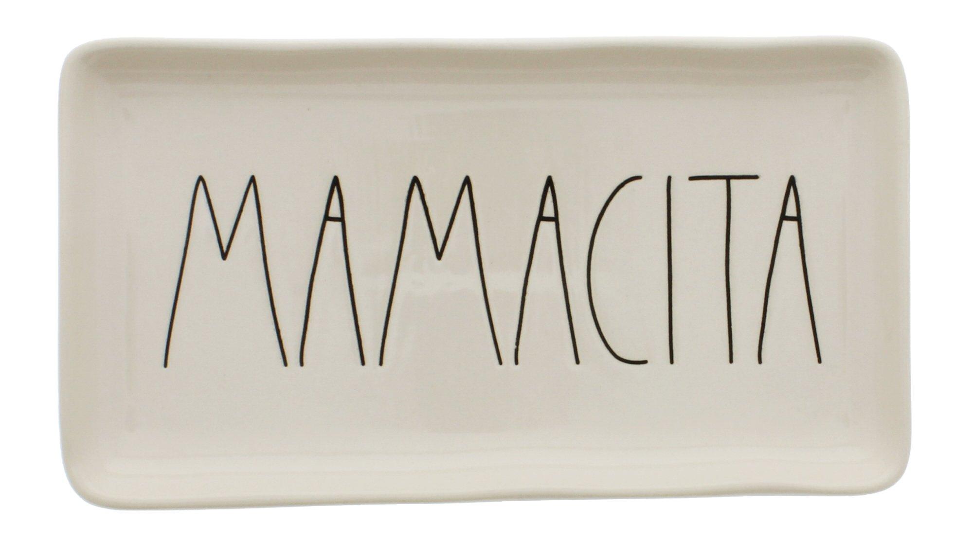 Rae Dunn by Magenta Ceramic MAMACITA LL Tray