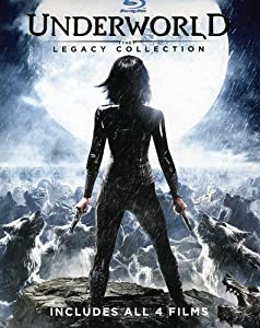 Underworld: The Legacy Collection (Underworld / Underworld: Evolution / Underworld: Rise of the Lycans / Underworld: Awakening) [Blu-ray] from Sony Pictures Home Entertainment