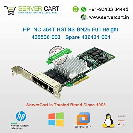 DRIVERS FOR HP NC364T VMWARE