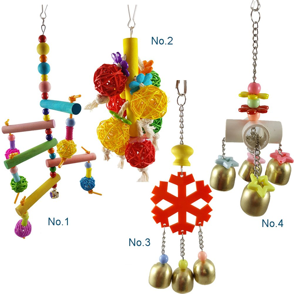 Bird Toys for Parred Chewing Bite Toy for Parreds Pet Trainning