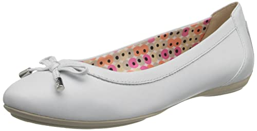 Geox D CHARLENE A D32Y7A00085C9999 Ballerine donna Bianco 41