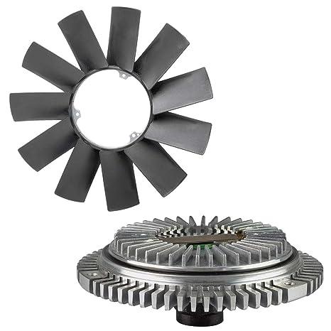 Amazon.com: TOPAZ Engine Cooling Fan Clutch + Fan Blade for BMW E36 E46 E53 E34 E32 E39 323i 325i X5 Z3 528i: Automotive