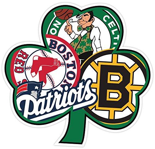 [해외]보스턴 팬 스포츠 국기 아일랜드 4 x 4 스티커 데칼 비닐 Bruins 애국자 셀틱스 레드 삭스/BOSTON Fan Sport Flag Irish 4 x4  Sticker Decal Vinyl Bruins Patri