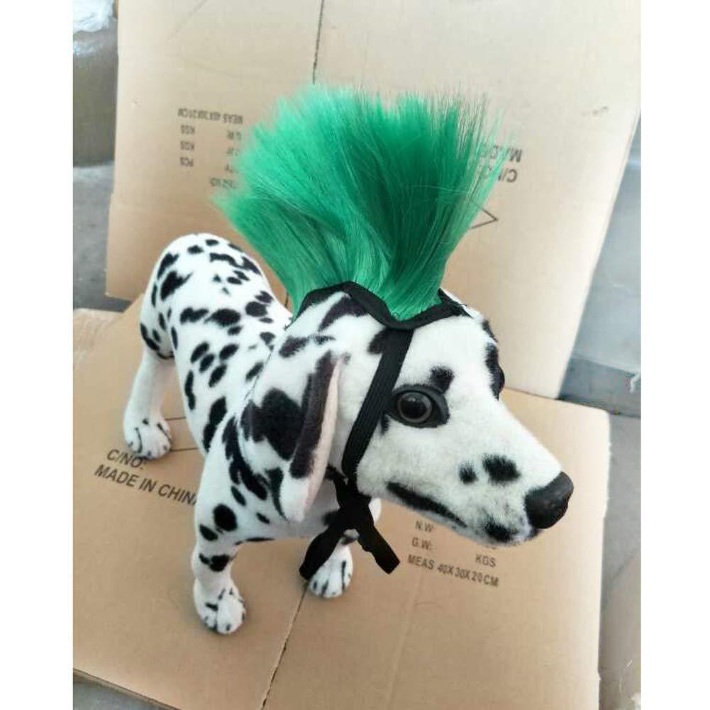 Yevison Wild Cute Fashion Pet Accessories Accessories Dog Wig Headgear Hat Accessories