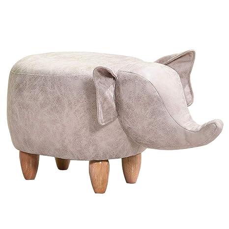 Amazon.com: Taburete de madera maciza de Furniture Paradise ...