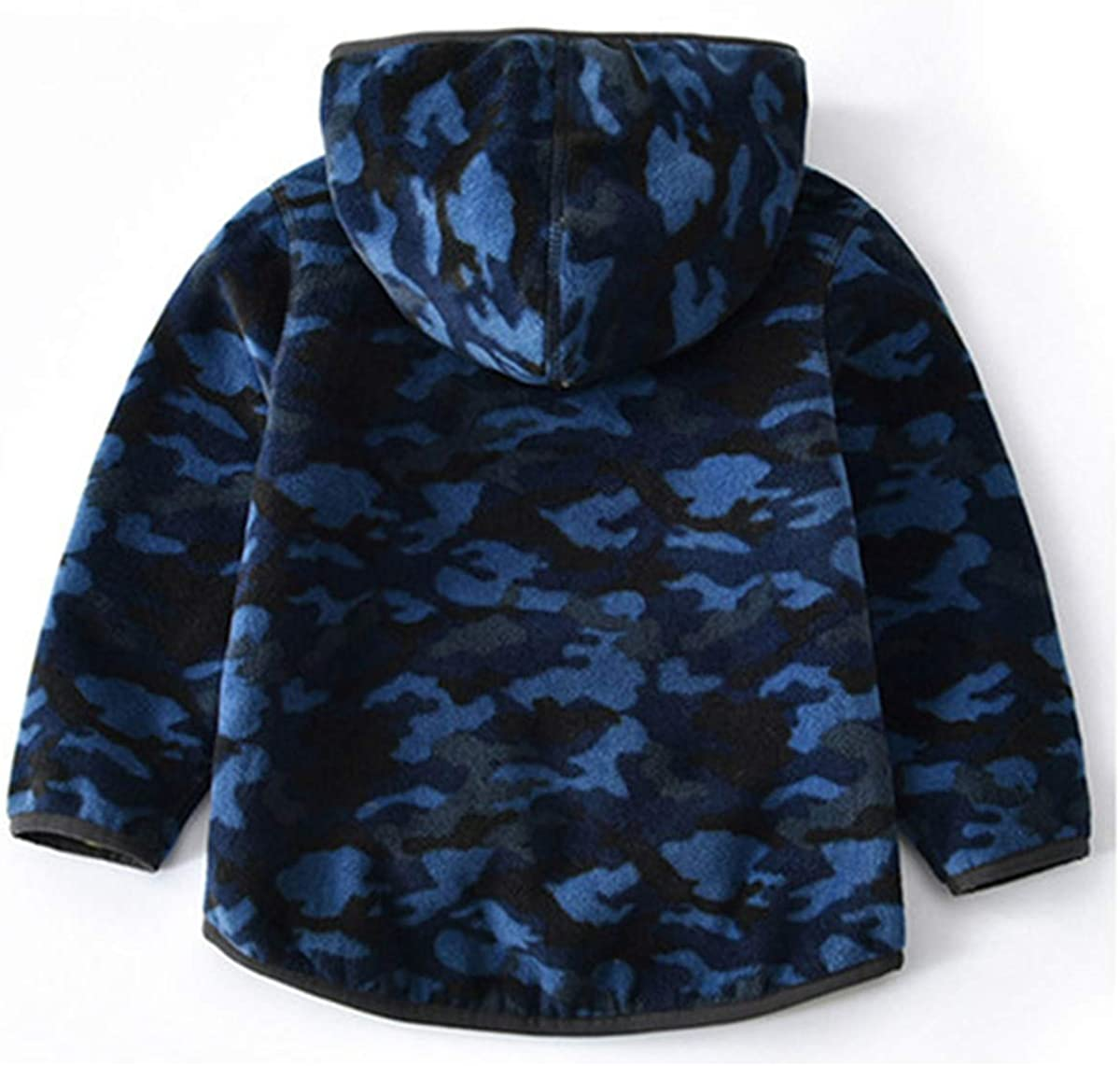 Vine Boys Polar Fleece Jackets Hoodie Jackets Reversible Coats Spring Outerwear